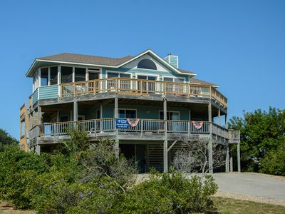 Photo for Beaching It Back East: Oceanside with a private pool with a gazebo and a hot tub, pet friendly.