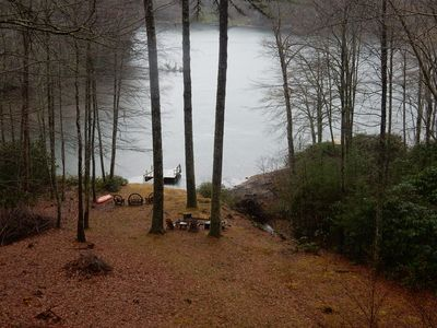 Photo for Quiet Cove Cottage - Waterfront on Lake Glenville!