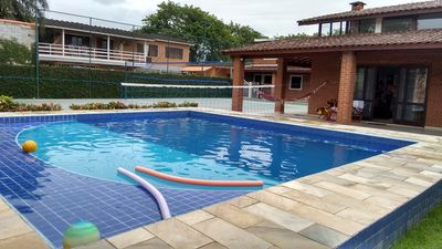Photo for Wonderful House on the Beach of Pernambuco: Pool, Biribol, Quadra, 5 suites