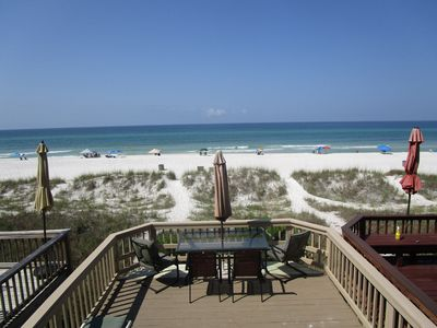 Photo for Gulf Front Townhome, Incredible Views, Convenient Location, Pet Friendly!~