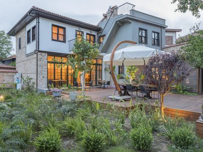 Photo for Chic Stone House with Lush Garden Faced to Scenic Historical Ramparts