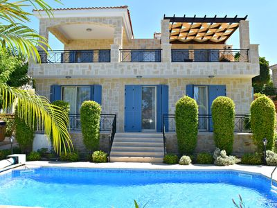 Photo for Latchi Beach 4 Bedroom Luxury Villa - 200m from Blue Flag Beach  - Sea Views