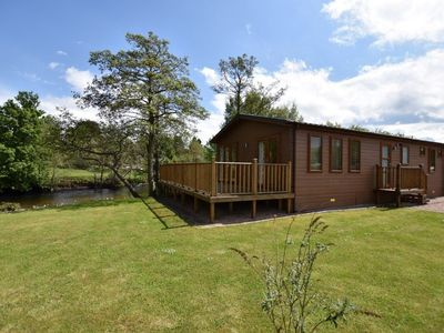 Photo for The Ardle Lodge with Hot Tub Sleeping up to 6 persons.
