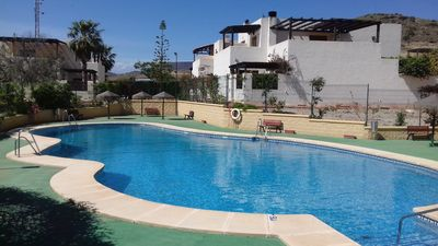 Photo for Villa in quiet residence in private residence with swimming pool. 5 min from the sea by foot