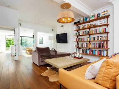 Photo for Chamring English home with sweet garden - Close to glamorous Chelsea (Veeve)