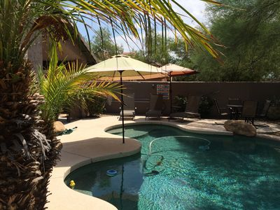 Photo for Beautiful N.E. Phoenix/Scottsdale Desert Ridge Golf/Pool Vacation Home