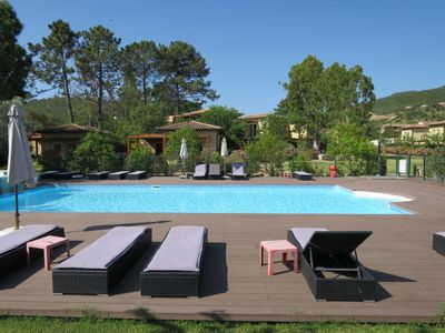 Photo for Favone Apartment, Sleeps 6 with Pool, Air Con and Free WiFi