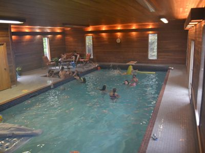 Photo for 6 bedrooms and your own private indoor pool, spa, sauna & gym!