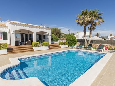 Photo for Beautiful villa with private pool, Air-con & disabled friendly