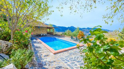 Photo for Rustic-style holiday home with staggering views and outdoors in El Gastor