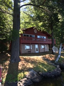 Photo for A beautiful family camp/Lake House on Loon Lake in the Adirondacks in NYS