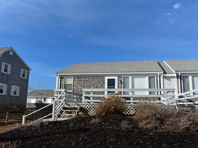 Photo for 29 Lanyard- Duplex home steps to sandy beach!  AC in living room!