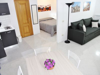 Photo for Apartment IN THE CENTER OF ROME to the VATICAN with GARAGE on request