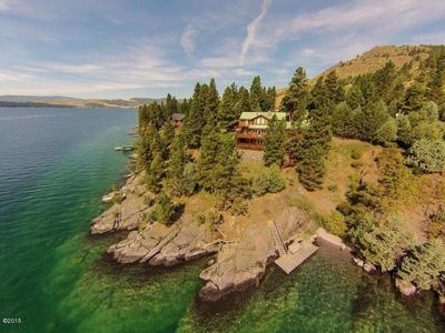 Photo for Mello Point on Flathead Lake 365ft Lake frontage