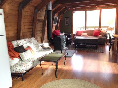Photo for Sleeps 10-12, 7 m South of the Loaf w/ WiFi, laundry, on wknd shuttle route