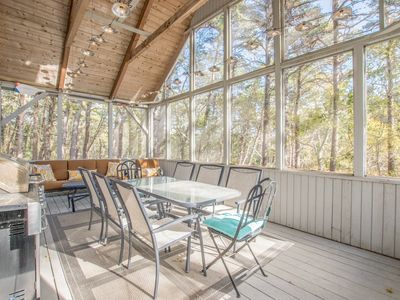 Photo for #320: 5-min walk to Duck Pond! Outdoor Living! 4 minutes to Wellfleet Village!