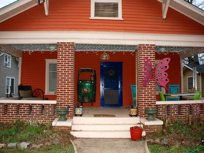 Photo for Cute bungalow in East Point walk to  MARTA near airport