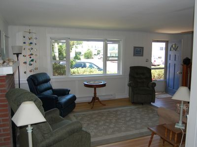 Photo for Cute Cape Cod In Beach Block! Walk to restaurant, bakery, indoor pool,  shopping