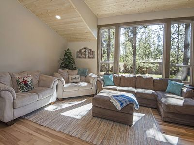 Photo for Modern, Single-Level Sunriver Home with Master Suite, Hot Tub!