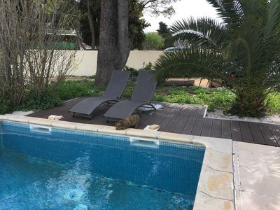 Photo for Charming villa bottom 6 people, 5 minutes walk from the beach