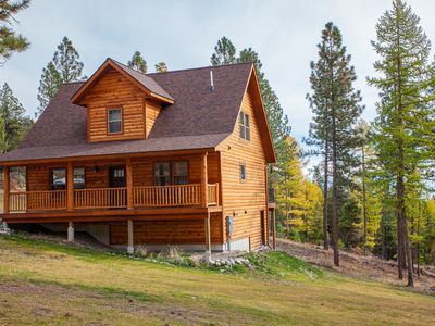 Photo for NEW LISTING! EXCEPTIONAL 3 BEDROOM 2 BATH CABIN IN THE WOODS