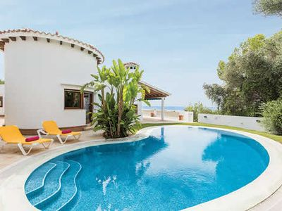 Photo for 3BR villa with stunning views, a private pool and terrace, great for relaxing and with a resort nearby
