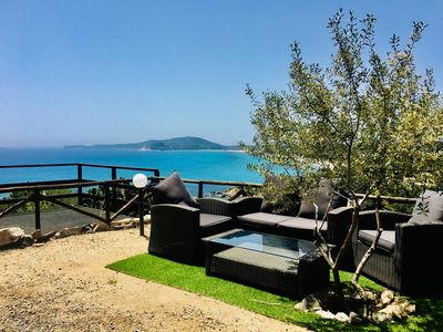 Photo for Panoramic Villa overlooking the sea