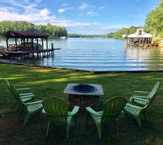 Photo for Lake Front Vacation Home, 90 mi. from DC with beautiful lake views.