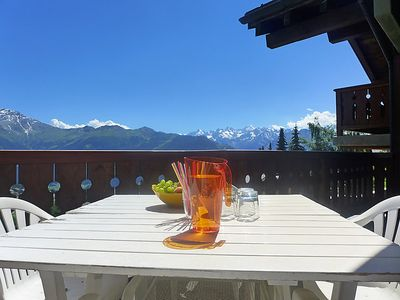Photo for Apartment Licorne in Verbier - 6 persons, 3 bedrooms