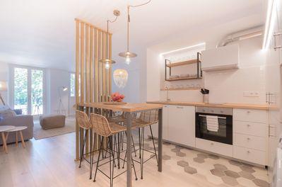 MARsuites1, Open plan full equiped kitchen