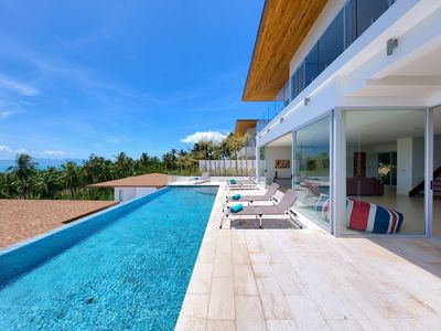 Photo for Villa Daisy - Luxury 3 Bedroom Sea View Villa