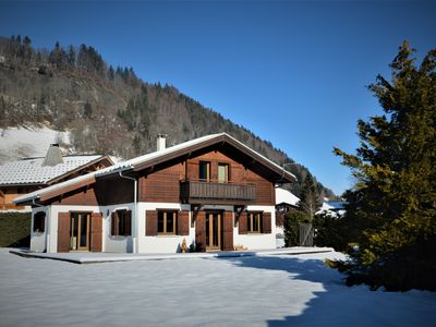 Photo for Renovated chalet 8 people near Megeve