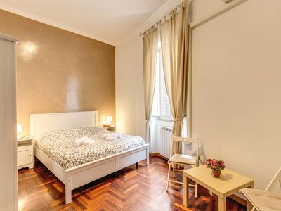 Photo for Finally in Rome Vatican Apartment - 3 Double Rooms 100sqm