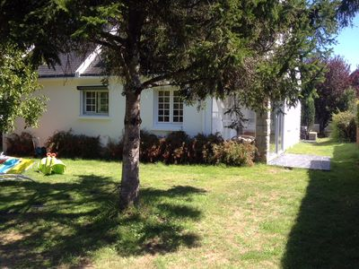 Photo for House 300m from the beach - 4 bedrooms 2bdr - garden - quiet