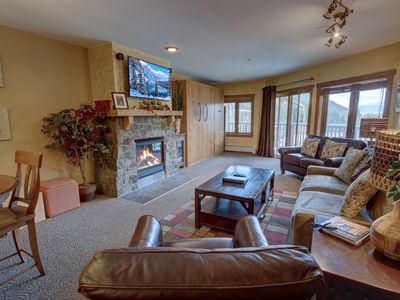 Photo for Bright and Mountain-modern Condo in River Run by Summitcove Lodging