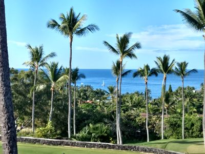 Photo for Spectacular Oceanview  Condo Overlooking Kona Country Club Golf Course.