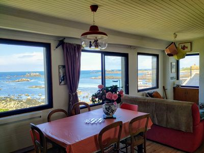 Photo for Atypical fisherman's house, breathtaking sea view of the Iroise Sea