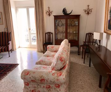 Sitting room leading onto one of the balconies