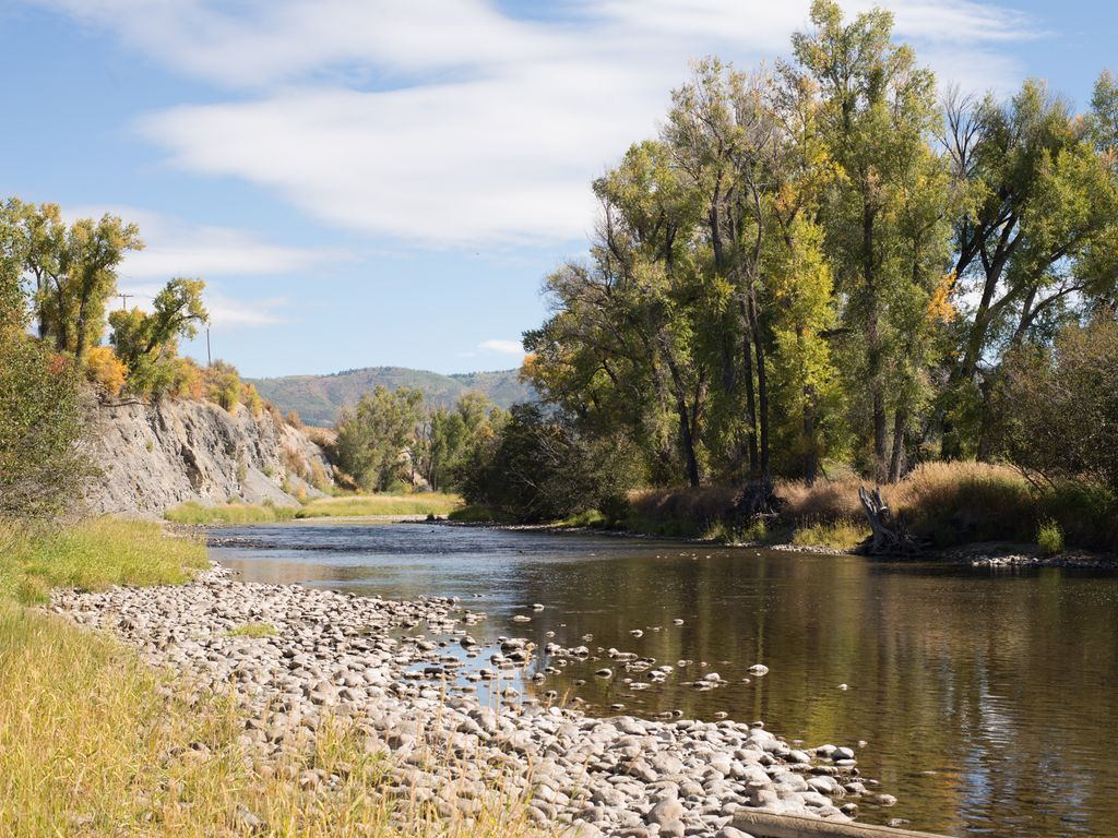 The River House on the Yampa: Waterfront Family Home, Fly Fishing on ...