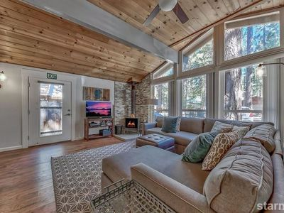 Photo for 3332 Ash Cozy Bijou Pines Charmer with Private Hot Tub & Updated Throughout