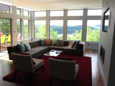 Amazing views of the lake from great room