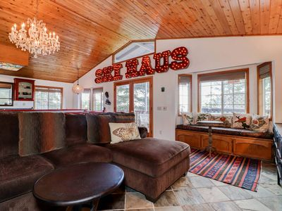 Photo for The Tree House: Luxury! Near Bear Mtn! Hot Tub! Foosball Table! Views!