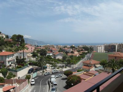 "Photo for Apartment ""RESIDENCE LE DERI"" large 2 rooms ""VUE MER"" with small balcony"