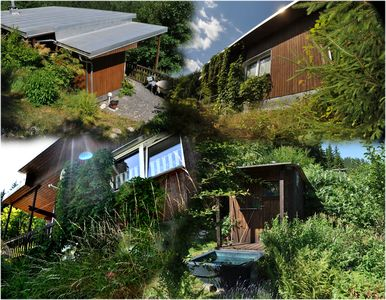 Photo for Nature holiday directly at the forest, sauna, comfortably furnished mountain lodge