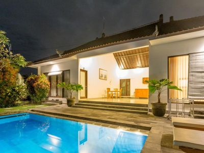 Photo for Three Bedrooms Villa in Canggu, 10 minutes walking to the Beach