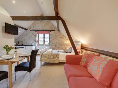 Photo for A superb loft barn conversion in stunning Devon countryside with onsite spa