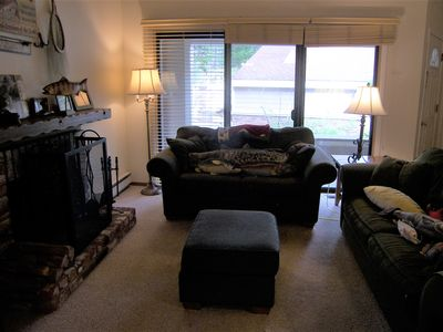 Photo for 2BR 2BA Condo Wood Fireplace Close To Beach And Casino