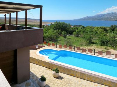 Photo for 4 bedroom Villa, sleeps 8 in Bučić with Pool, Air Con and WiFi