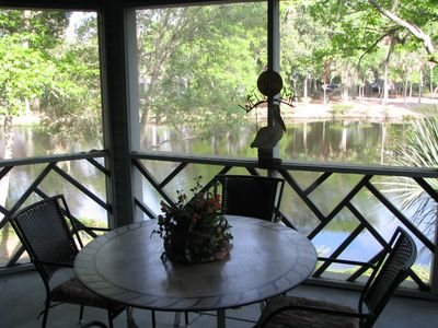 Photo for Premier Rated Villa 2BR/2BA - Lagoon View -