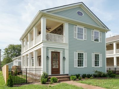 Photo for Luxurious Stunner! 4 Miles To Downtown, Smart TVs, Porches, 5 Kings, Sleeps 12